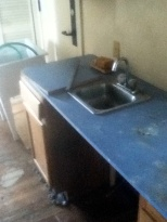 old sink, very disaggreable