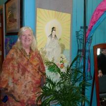 doreen in her studio