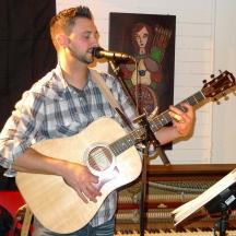 live music in the big hall, Desultory Theatre Club